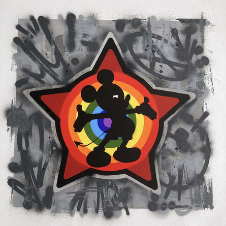 Ame72, 'Rainbow Mickey ', 2020