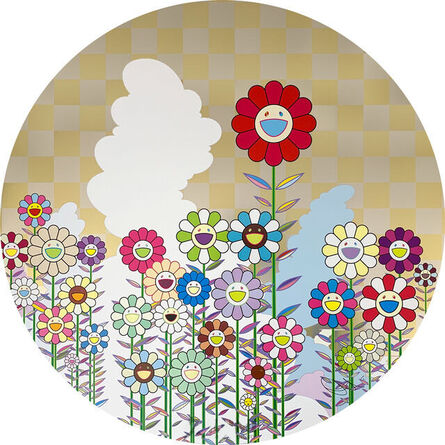 Takashi Murakami, 'A Memory of Him and Her on a Summer holiday ', 2018