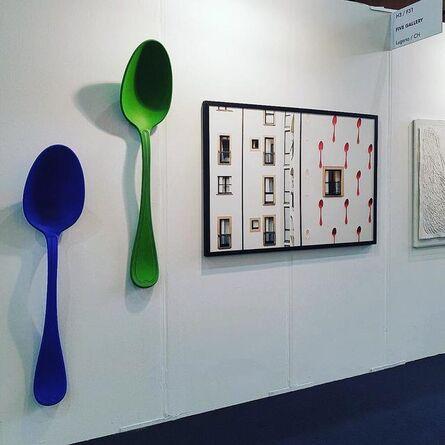 Simone D'Auria, 'Bruno Spoon-Green', 2013