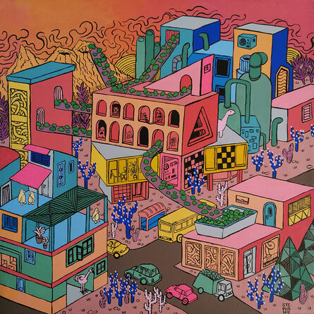 Stephanie Yong, 'Fantasy Township III', 2019