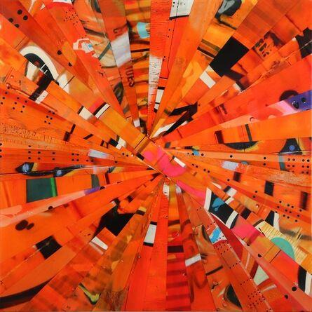 Nicola Katsikis, 'Warp Speed Orange', 2016