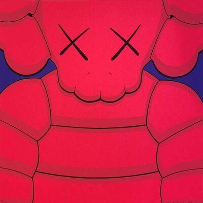 KAWS, 'What Party Print (Pink)', 2020
