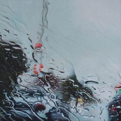 Steen Larsen, 'The Kings Road in Rain', 2021