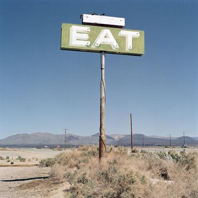 Jeff Brouws, 'Eat, Inyokern, CA', 1998