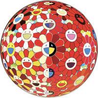 Takashi Murakami, 'Flower Ball Red (3d) - The Magic Flute', 2010