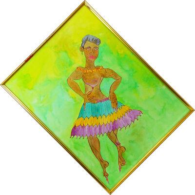 Luigi Ontani, 'Danzindo (Madras)', Late second half of the 20th century