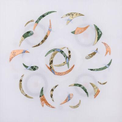 Leslie Nguyen Temple, 'Kinetic Mandala Abstract Series - Into lotus 旋舞的曼陀羅 抽象作品系列 - 入蓮', 2017-2018