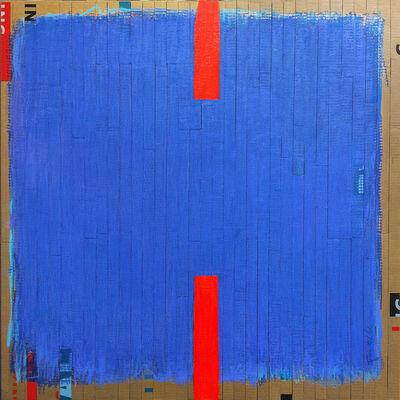 Dolores Poacelli, 'ArtePovera/ RED TAPE/ BLUE', 2016