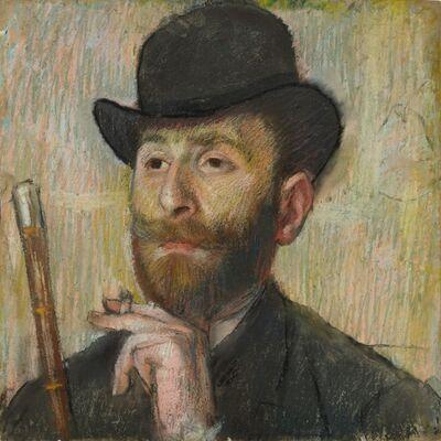 Edgar Degas, 'Portrait of Zacharian', ca. 1885