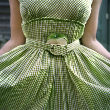 Cig Harvey, 'The Cut Apple and Gingham Dress, Self Portrait, Clark's Island, Maine ', 2003