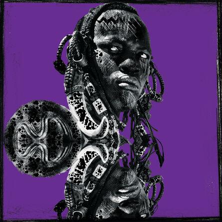 Ralph Ziman, 'Kirinomeri (Purple)', 2020