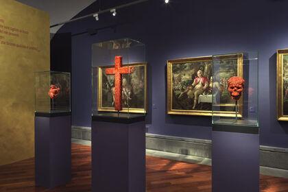 Jan Fabre. Oro Rosso sculture d'oro e corallo, disegni di sangue / Jan Fabre. Oro Rosso Golden and Coral Sculptures, Blood Drawings