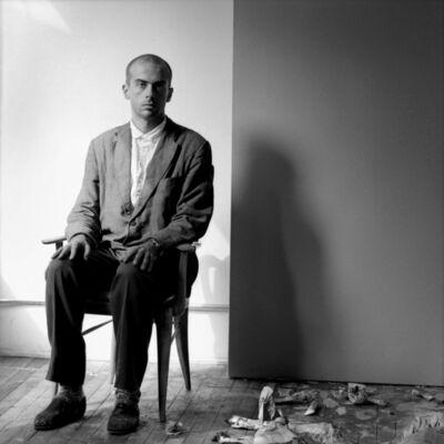Jeanette Montgomery Barron, 'Francesco Clemente, studio, NYC', 1981