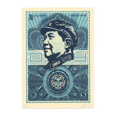 Shepard Fairey, 'Mao Money', 2019