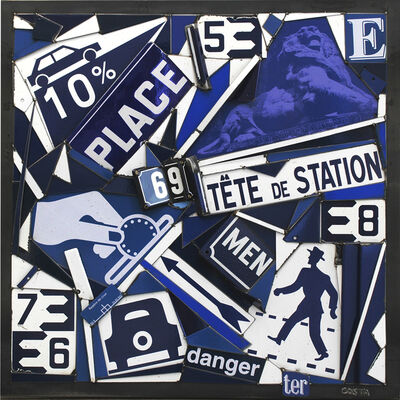 Fernando Costa (AKA COSTA), 'Place Bleue', 2020