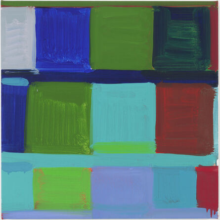 Stanley Whitney, 'The Blue', 2012