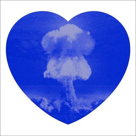 Iain Cadby, 'Love Bomb (Blue and Silver)', 2019
