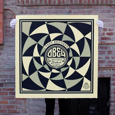 Shepard Fairey, 'Tested Performance', 2014