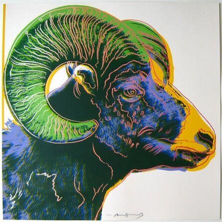 Andy Warhol, 'Bighorn Ram', 1983