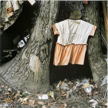 Elijah Gowin, 'Child's Dress in Tree Trunk', 1997