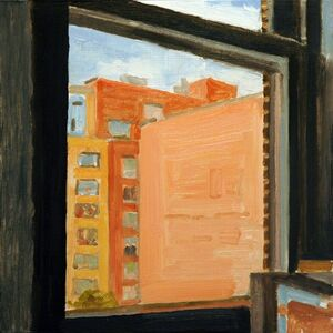 Richard Kirk Mills, 'Chelsea Window Painting', 2017