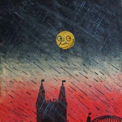 Peter Kingston, 'Luna lights', 2010