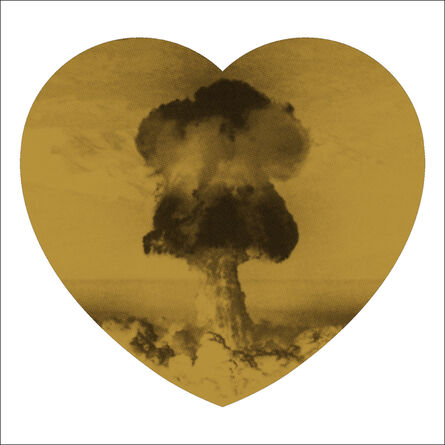 Iain Cadby, 'Love Bomb (Gold and Black) DELUXE EDITION', 2019