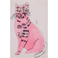 "Andy Warhol, 'Sam the Cat, from ""25 Cats Name(d) Sam and One Blue Pussy""', 1954"