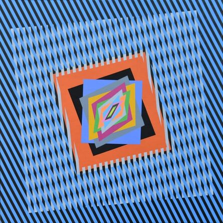 Ferruccio Gard, 'The emotion on the color in op art', 2017
