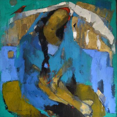 Ammar Alnahhas, 'Woman at Eufrat', 2021