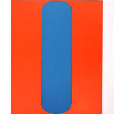 Ellsworth Kelly, 'Red-Blue', 1967