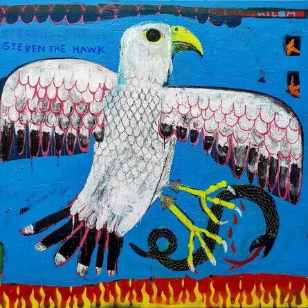 Joachim Lambrechts, 'Steven the Hawk', 2020