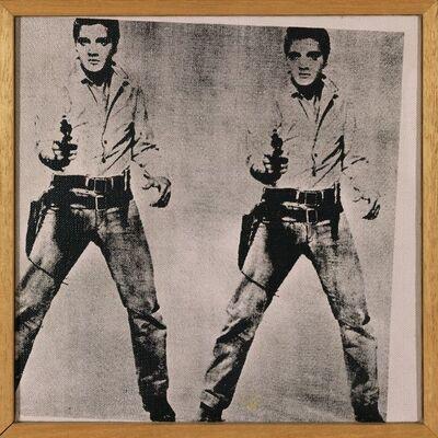 Richard Pettibone, 'Andy Warhol, Two Elvis, 1964', 1975