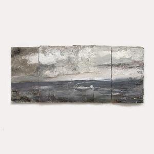 Andrew Hardwick, ''Pale Blue Sea, Wind, Cloud'', 2019