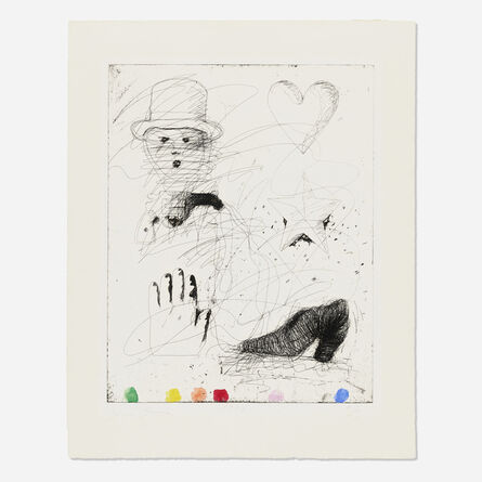 Jim Dine, 'The Realistic Poet Assassinated', 1970
