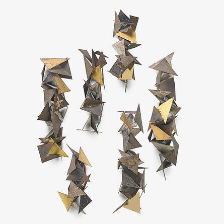 Paul Evans (1931-1987), 'Multi-piece wall sculpture, New Hope, PA', ca. 1958