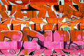 At Artspace Warehouse, Three Takes on Fluidity Span Graffiti and Abstract Expressionism