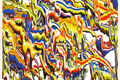 Peter Fox Releases Paint Into A Dizzying Array of Psychedelic Patterns