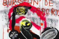 Jonathan Meese's Irreverent Canvases Reimagine Sports