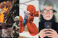 Eric Yahnker's Absurd Pop-Culture Paintings Capture the Madness of 2018