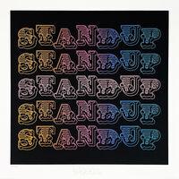 Ben Eine, ''Speak Up'', 2020