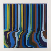 Ian Davenport, 'Royal Blue', 2011