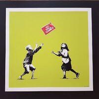 Banksy, 'No Ball Games Green', 2009