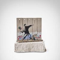Banksy, 'Walled Off Hotel - Flower Throwe'
