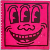 Keith Haring, 'Keith Haring cover art (Keith Haring Three Eyed face) ', 1982