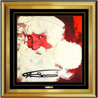 Andy Warhol, 'Andy Warhol Rare Santa Claus Color Lithograph Original Hand Signed Myths Pop Art', 1981