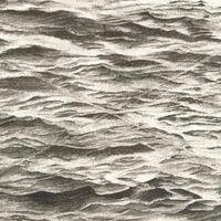 Vija Celmins, 'Ocean with Cross #1', 2005