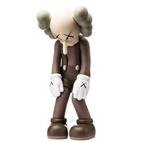 KAWS, ''Small Lie' (brown)', 2017