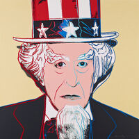 Andy Warhol, 'MYTHS: UNCLE SAM FS II.259', 1981