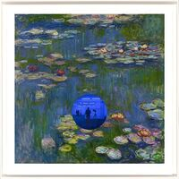 Jeff Koons, 'Gazing Ball (Monet Water Lilies) ', 2018